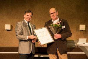 Award uitreiking Horses Product vh jaar 2015